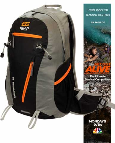 "Bear Grylls Backpack ""PathFinder"" - available now!"