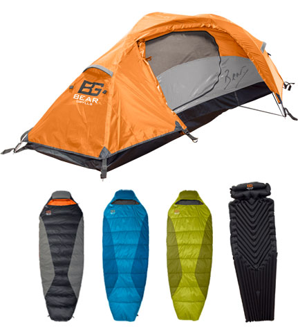 Bear Grylls Extreme Camping Gear
