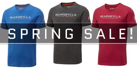 Bear Grylls Survival Clothing Spring SALE