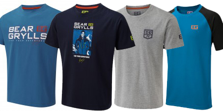 Bear Grylls Summer T-Shirt Promo