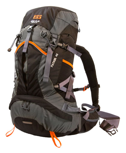 "Bear Grylls Backpack ""Patrol45"" - Coming Soon"