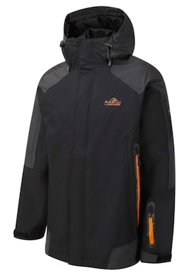 Bear Grylls Mountain Jacket - Black Pepper / Black